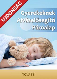 alváselősegítő párnalap gyerekeknek