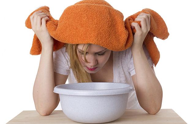 inhalálás otthon megfázás esetén